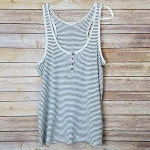 J Crew Stripped Tank Top Medium
